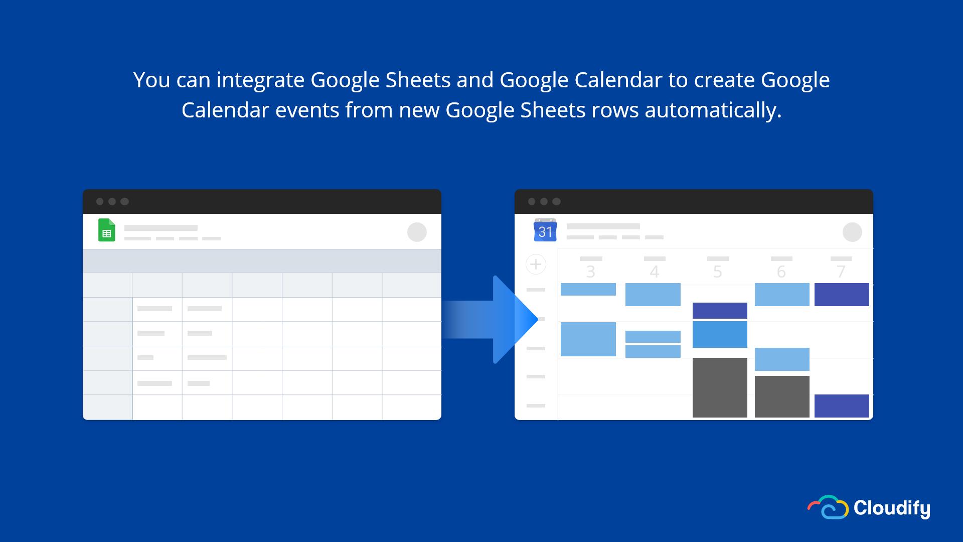 Google Calendar Google Sheet Integration