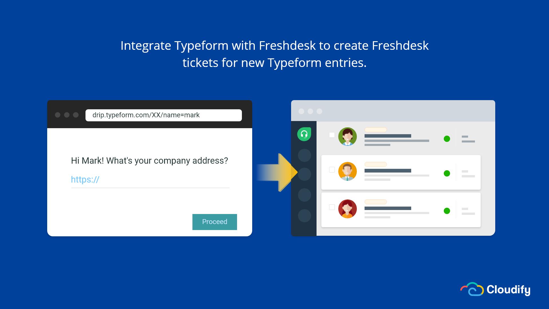 Typeform Freshdesk Integration