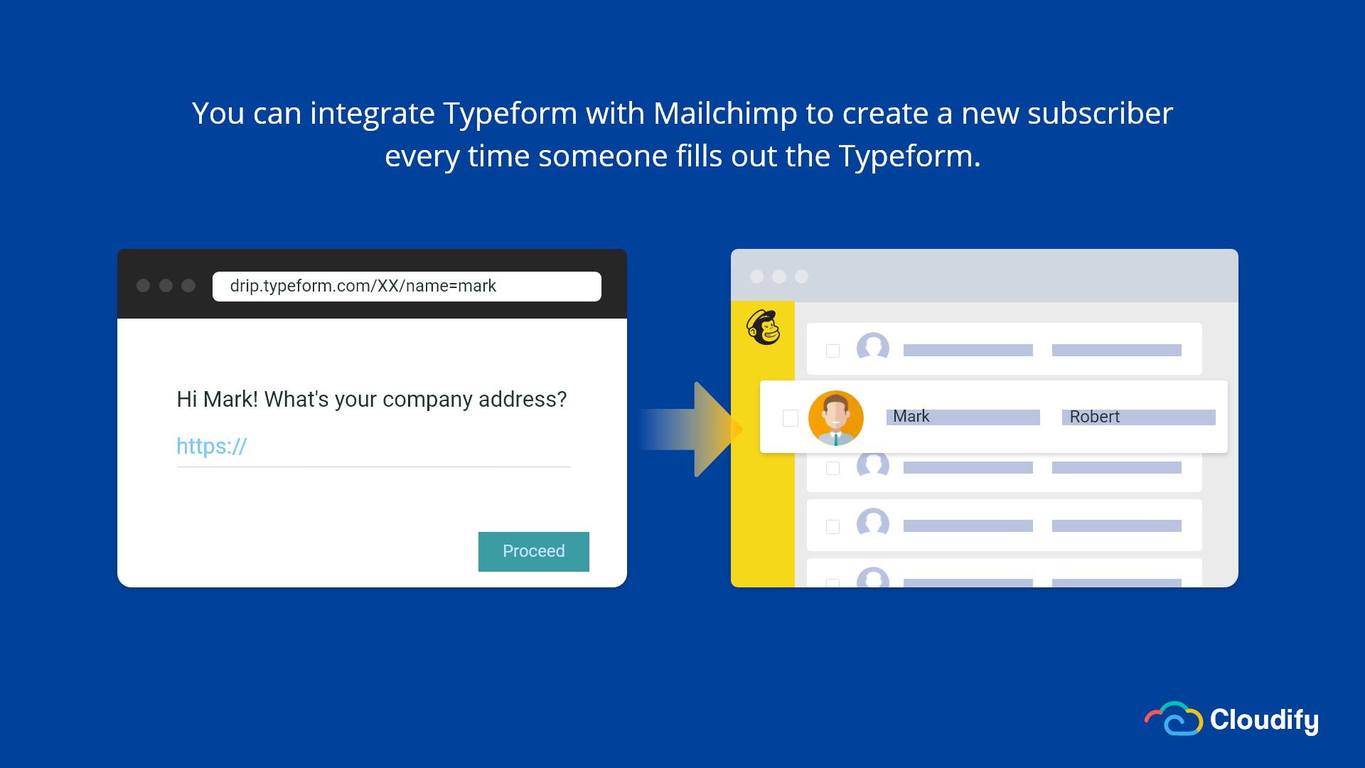 Typeform Mailchimp Integration
